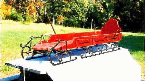 Handmade Two Bob Sled