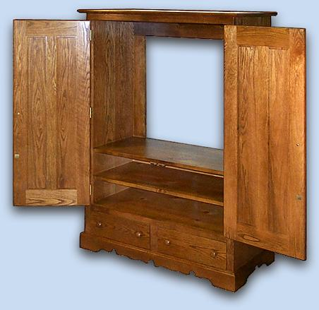Oak Colonial Entertainment Center