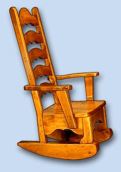 Pine Early American Rocker