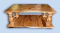Solid Butternut Early American Coffee Table