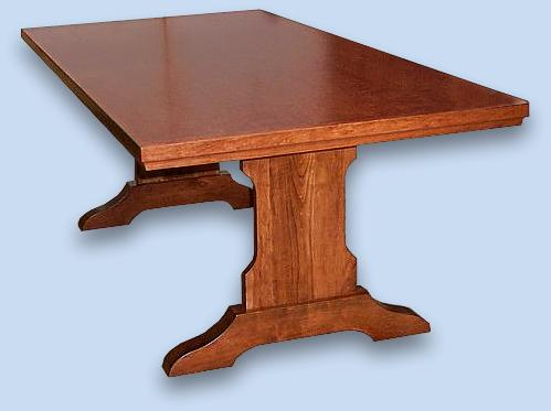 Cherry Shaker Style Extension Table