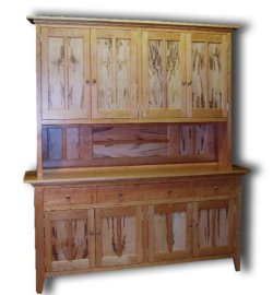 Custom Made Spalted Tiger MapleMaple Furniture by Delnero Maple Furniture
